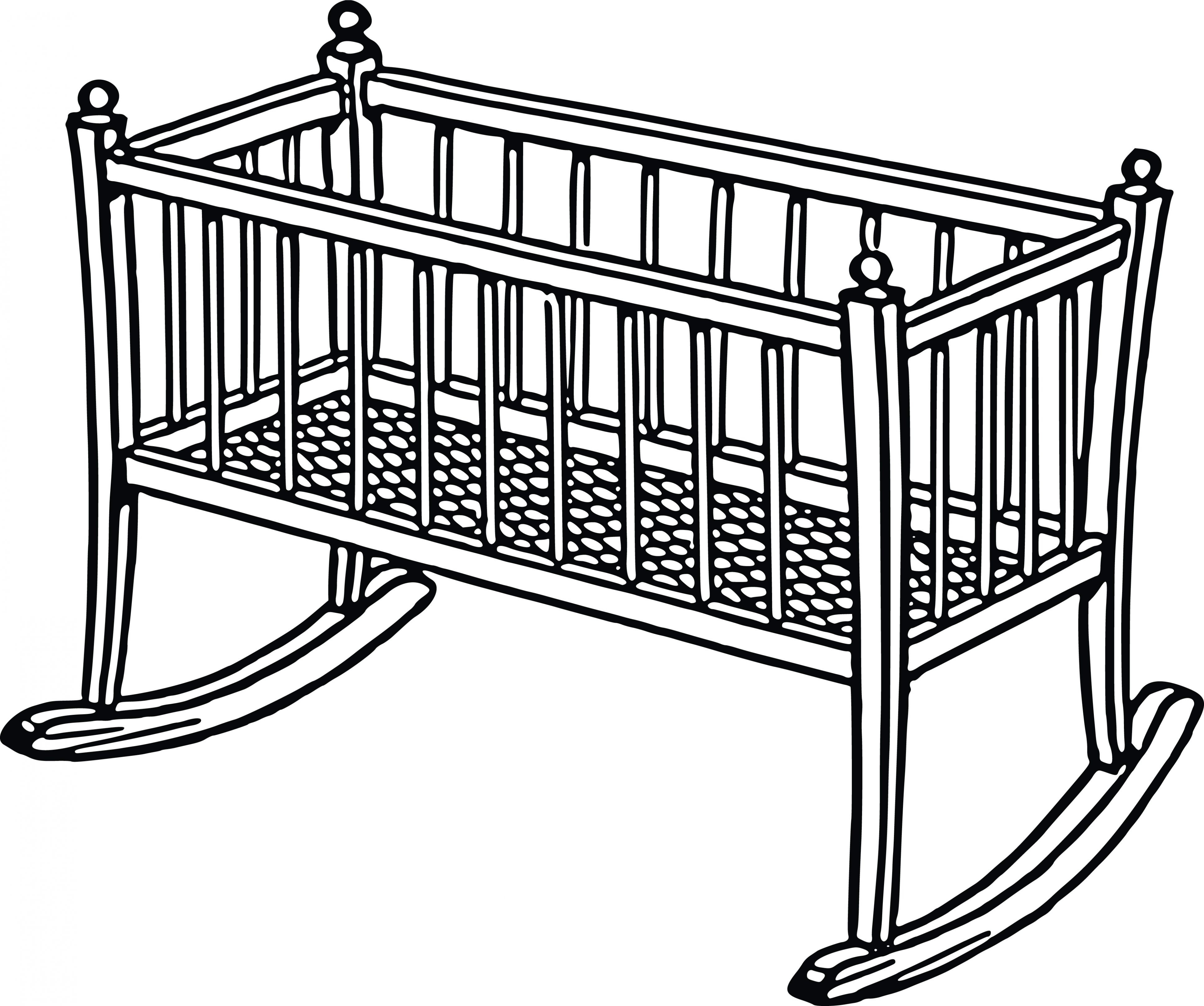 3880x3241 Clip Art Crib