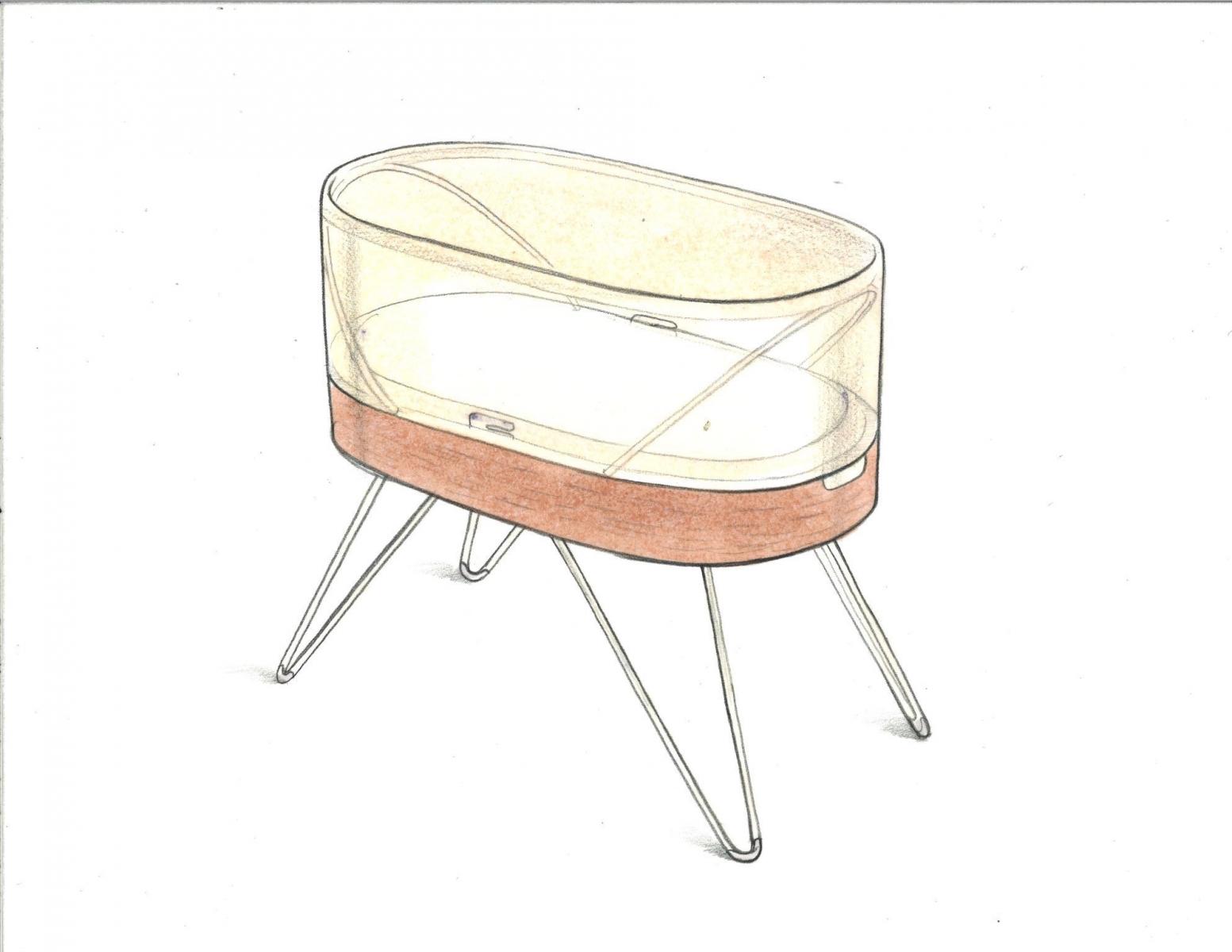 1553x1200 Yves Behar's Baby Crib Helps Infants Sleep Better