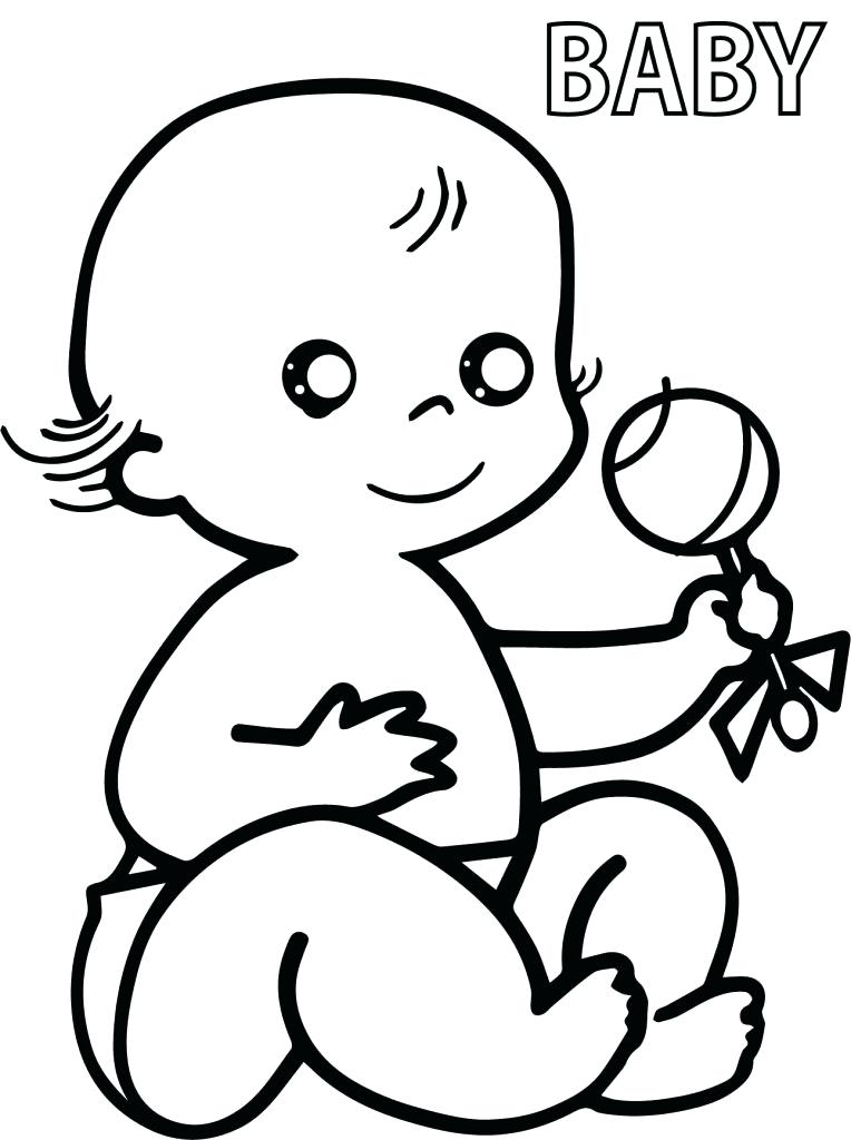 764x1024 Baby Color Pages Baby Coloring Pages Baby Coloring Pages Free
