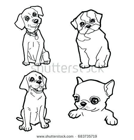 Baby Dog Drawing at GetDrawings.com | Free for personal use Baby Dog ...