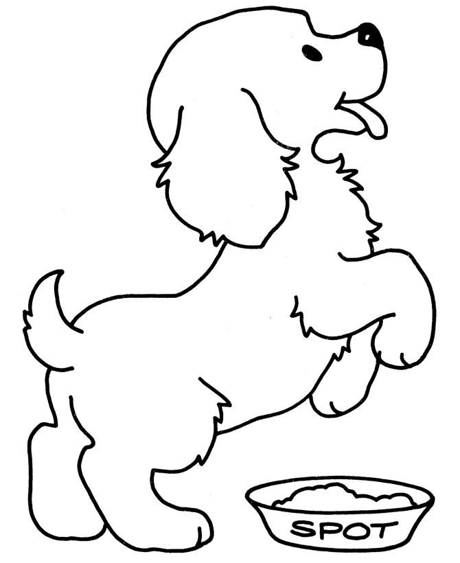 670x820 Baby Dog Coloring Pages Page For Kids