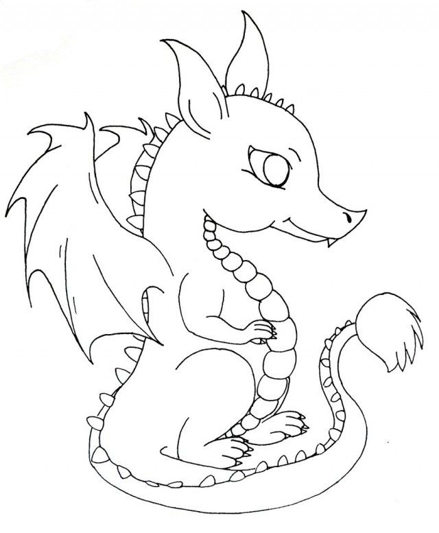640x777 baby dragon coloring pages pictures imagixs thingkid baby dragon