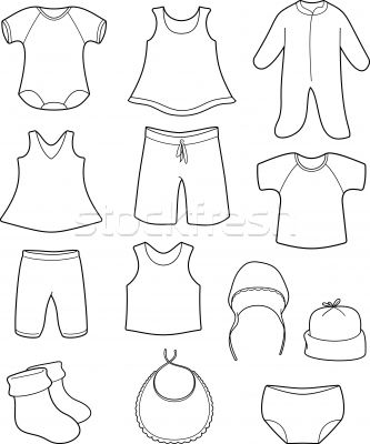 333x400 Clothing Coloring Pages Images Colouri On Fashion Dress