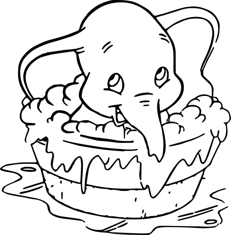 878x893 Dumbo Coloring Pages Dumbo Coloring Pages Dumbo Spectacle Baby