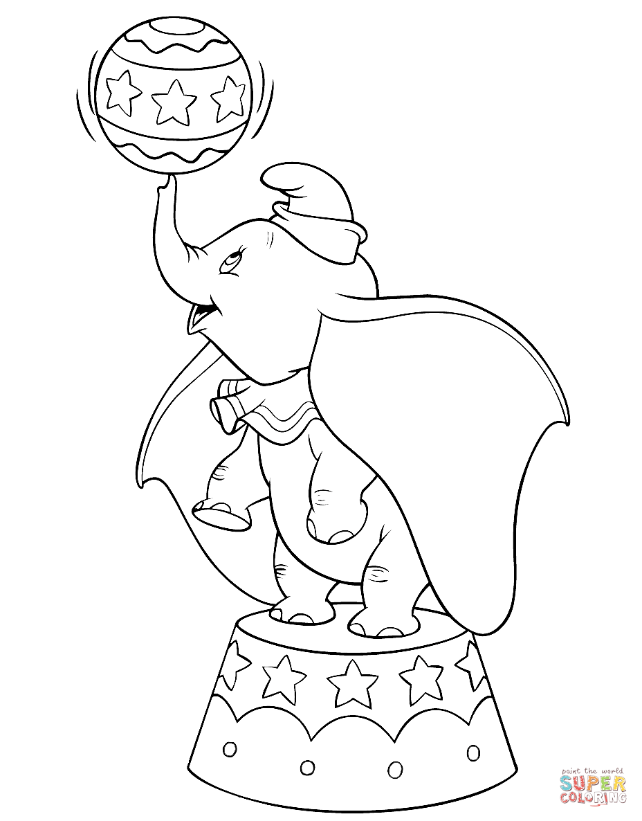 928x1186 Dumbo Coloring Pages Free Coloring Pages