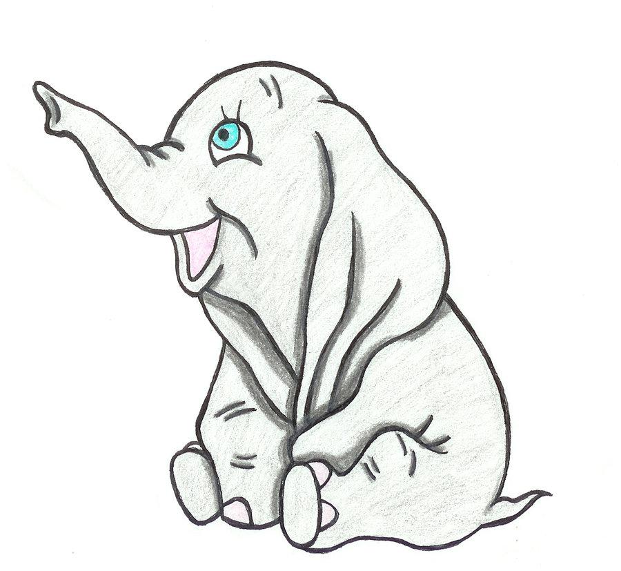 900x827 Beautiful Baby Dumbo By Binkaminka