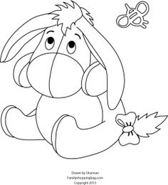 baby eeyore drawing at getdrawings | free download