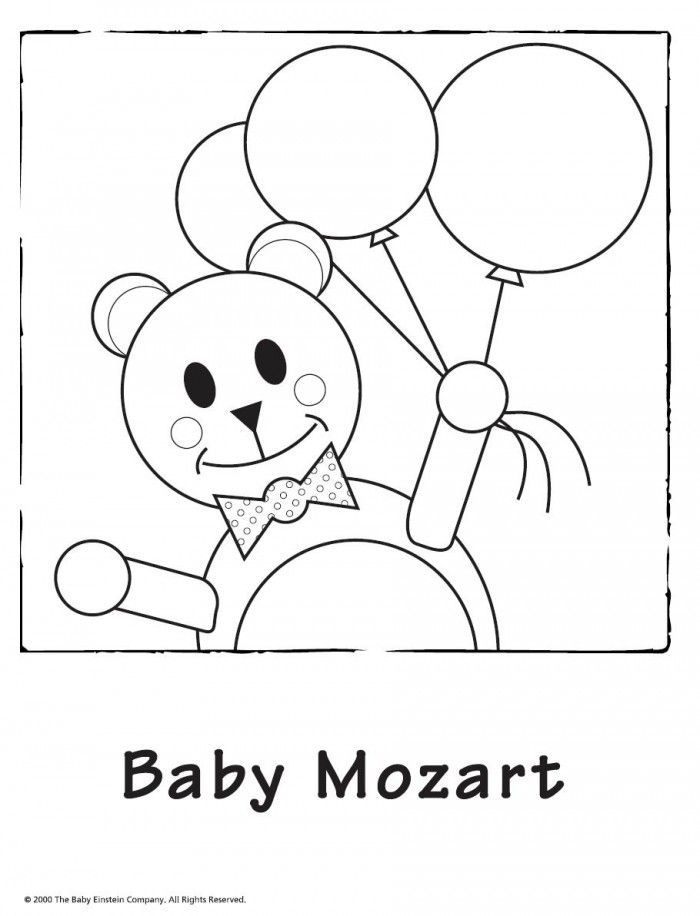 700x916 Baby Einstein Coloring Book, Baby Einstein Coloring Page
