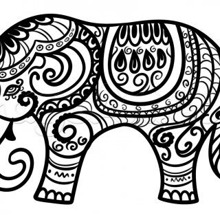 320x320 Tag For Elephant Drawing Elephant Drawing More Lucky Elephants