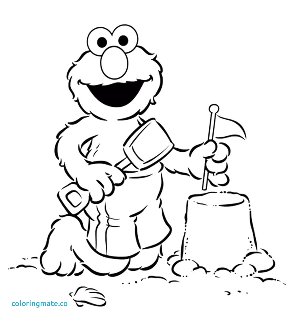 1000x1108 Elmo Coloring Page Beautiful Elmo Coloring Pages Bestofcoloring