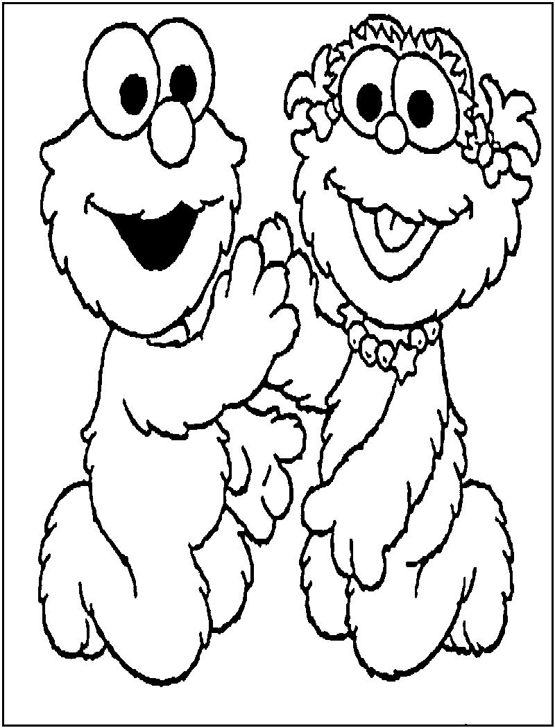 800x1050 Baby Elmo Coloring Pages To Print Coloring Pages
