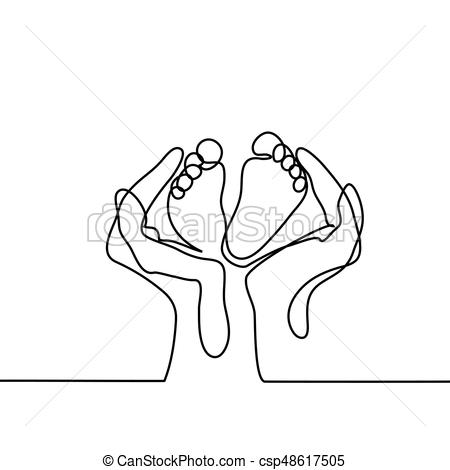 450x470 Baby Holding Mothers Finger Illustrations And Stock Art. 149 Baby