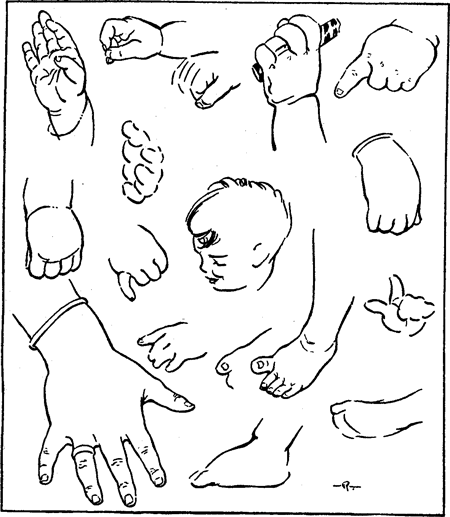 450x517 How To Draw Kids, Toddlers, And Baby In Correct Proportion