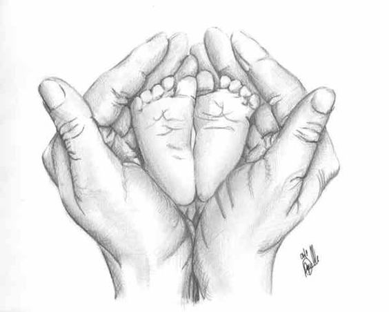 564x452 Pencil Drawings Of Babies
