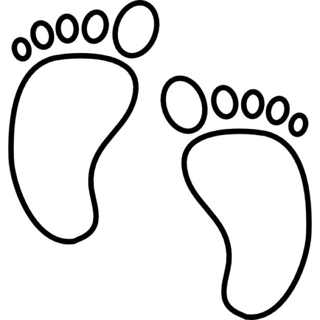 626x626 Baby Foot Print, Ios 7 Symbol Icons Free Download