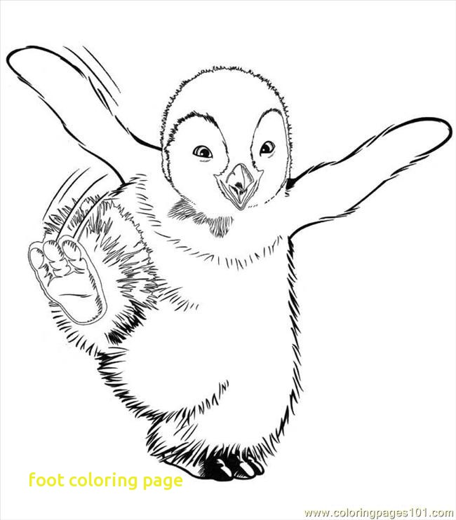 650x742 Foot Coloring Page With Foot Coloring Pages Kids Coloring Coloring
