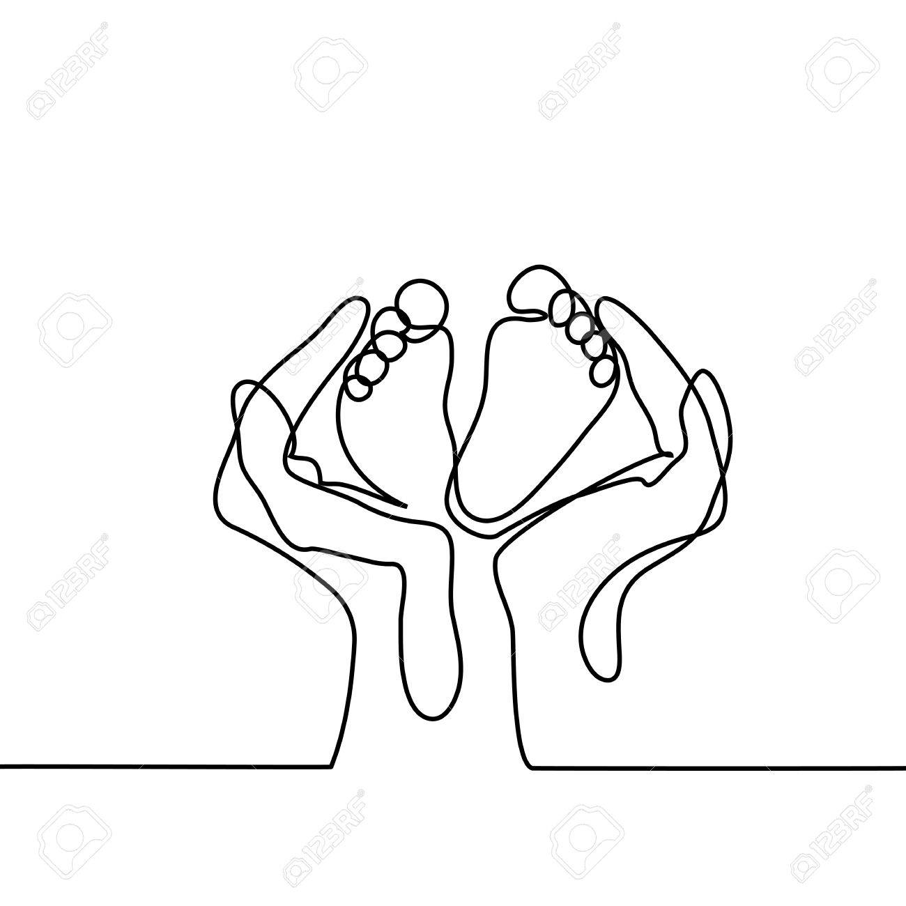 1300x1300 Hands Holding Baby Foot
