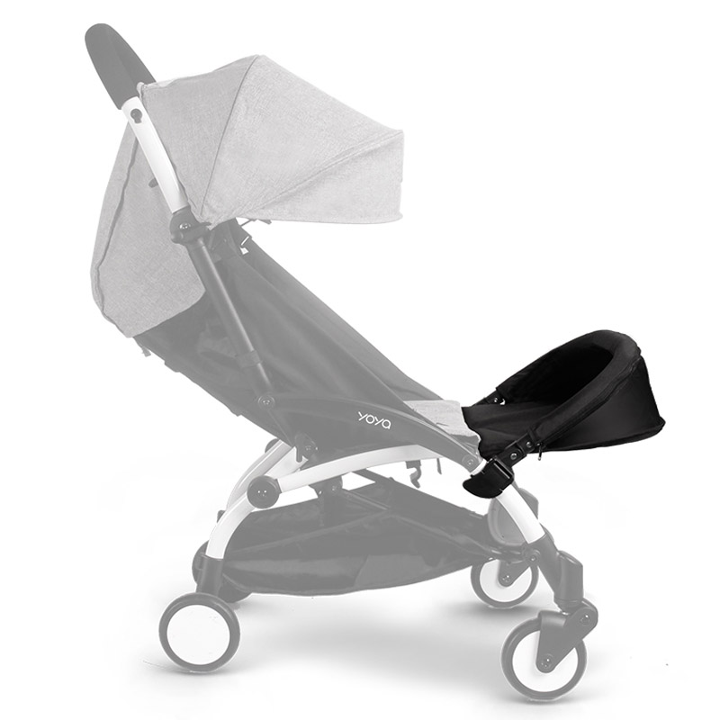 800x800 Baby Stroller Accessories 32cm Extended Footboard For Babyyoya