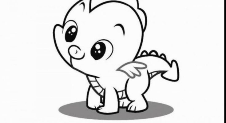 735x400 Animal Coloring Pony Baby Animal Coloring Page Fun Baby Pony Care