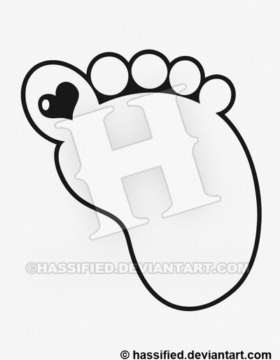 400x515 Outline Of Footprint Free Clip Arts Sanyangfrp