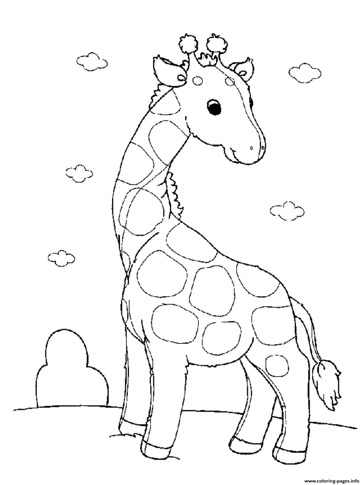 1200x1600 Baby Giraffe S For Girls Animals Printable13b0 Coloring Pages