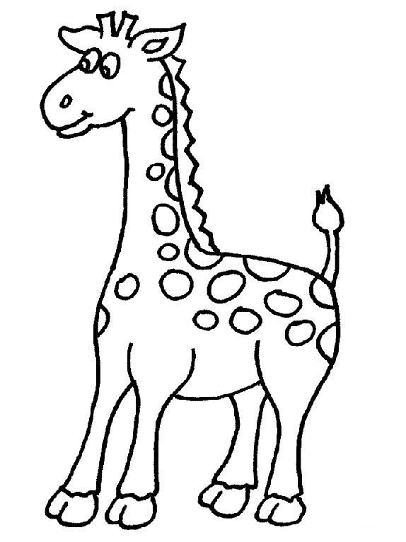 574x766 The Best Giraffe Colors Ideas On Giraffe Coloring