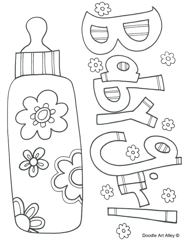 618x800 Baby Coloring Book And Baby Girl 66