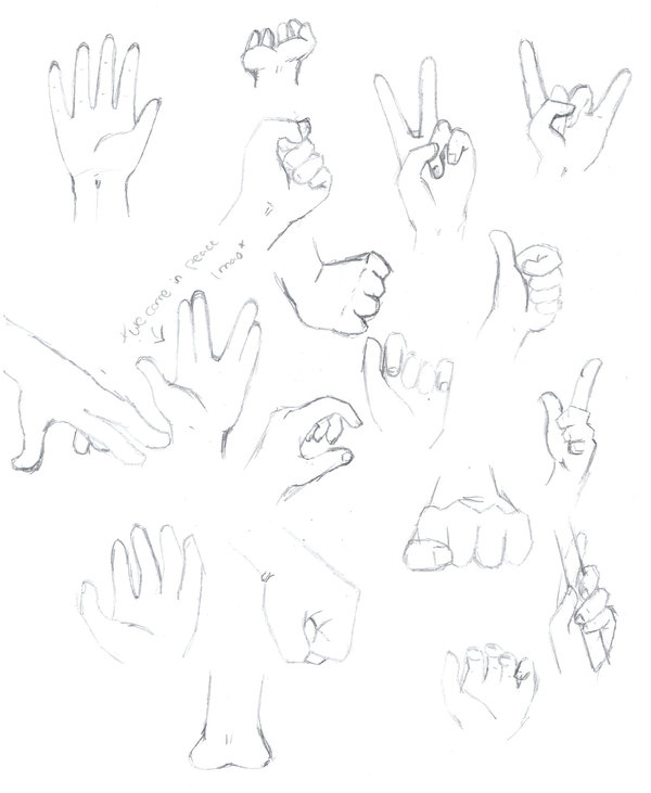 600x731 Anime Reference Sheet. Hands By Angel Baby Love
