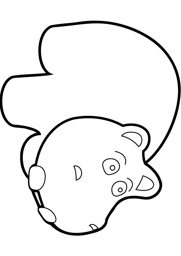 595x842 Download Free Baby Hippo Coloring Page