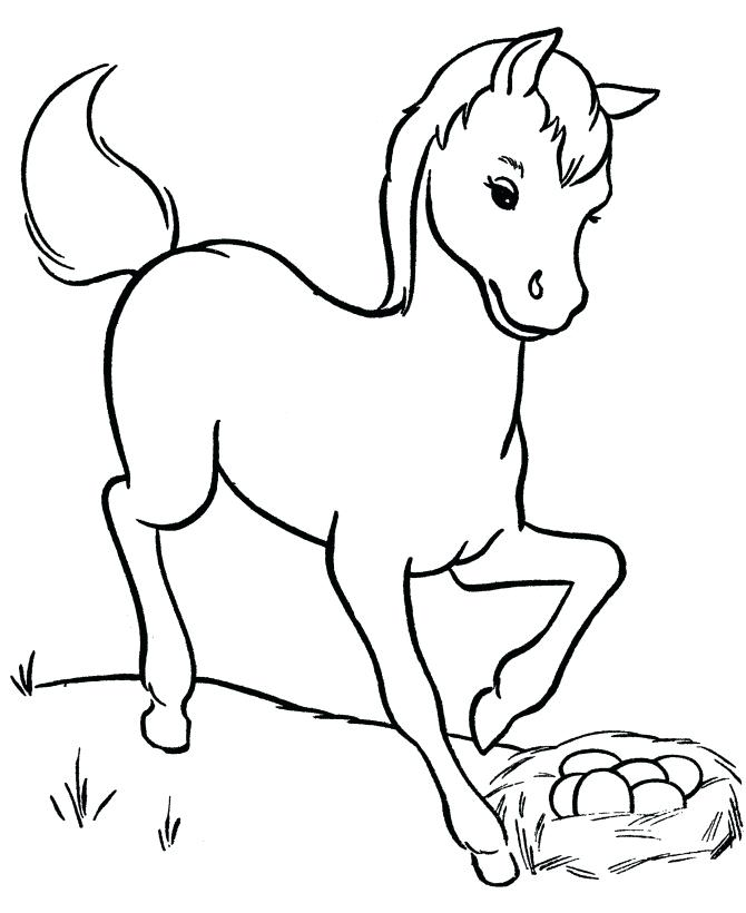 670x820 Trend Baby Horses Coloring Pages Best Of Terrific Horse