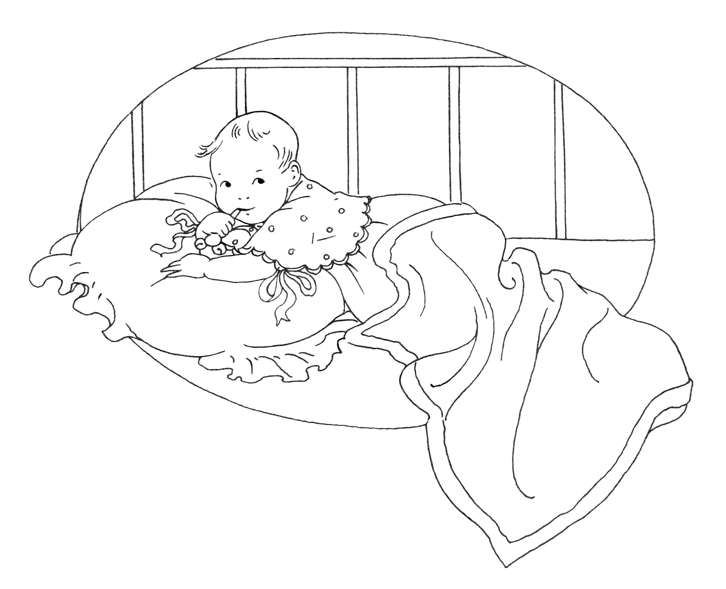 baby in crib drawing at getdrawings com free for personal use baby rh getdrawings com