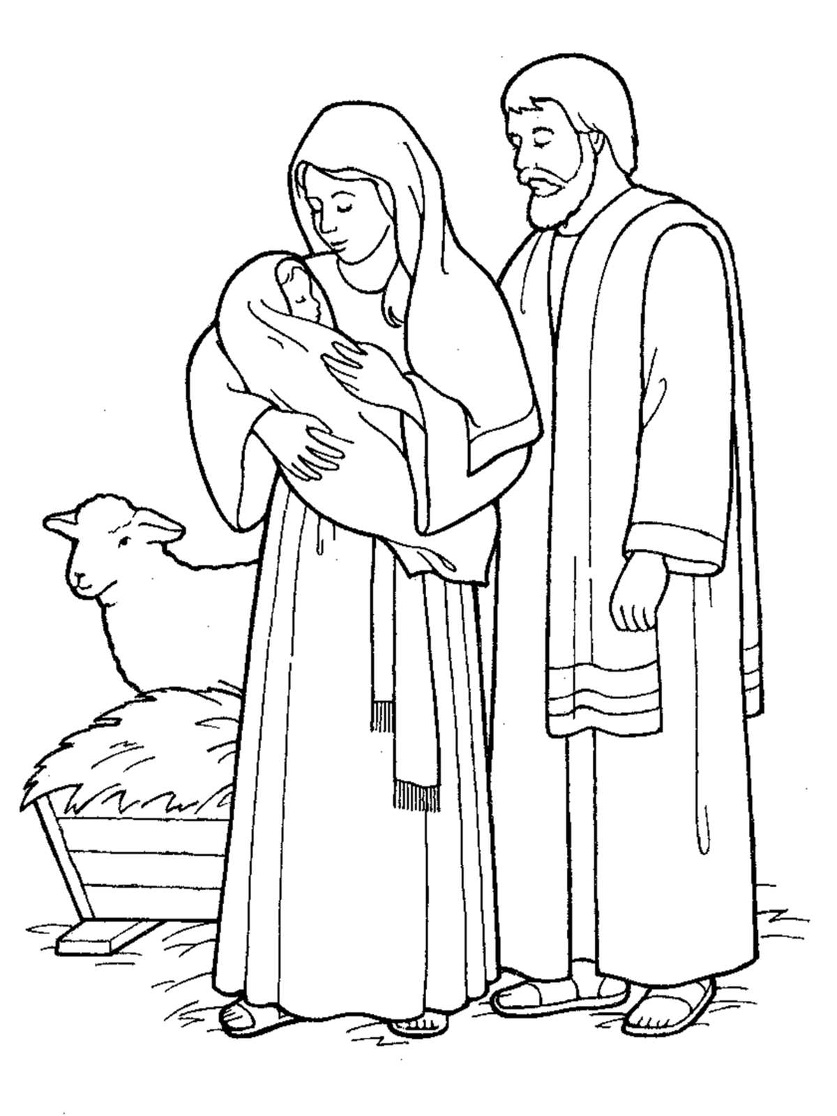 1200x1600 Jesus Came To Earth Nativity