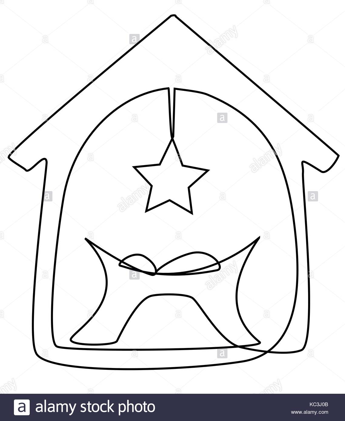 1139x1390 Jesus Baby Child One Line Drawing Stock Vector Art Amp Illustration