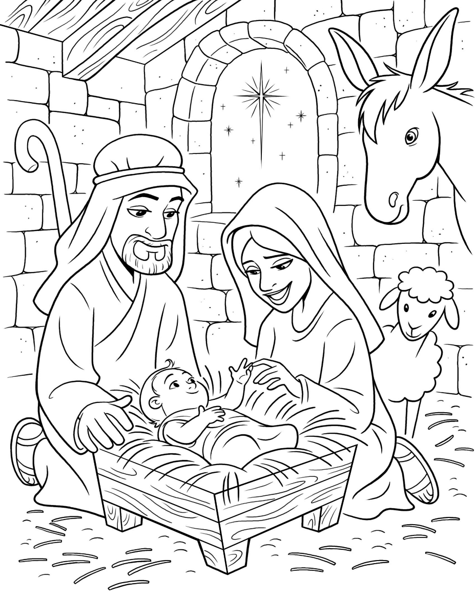 927x1200 The Birth Of Christ