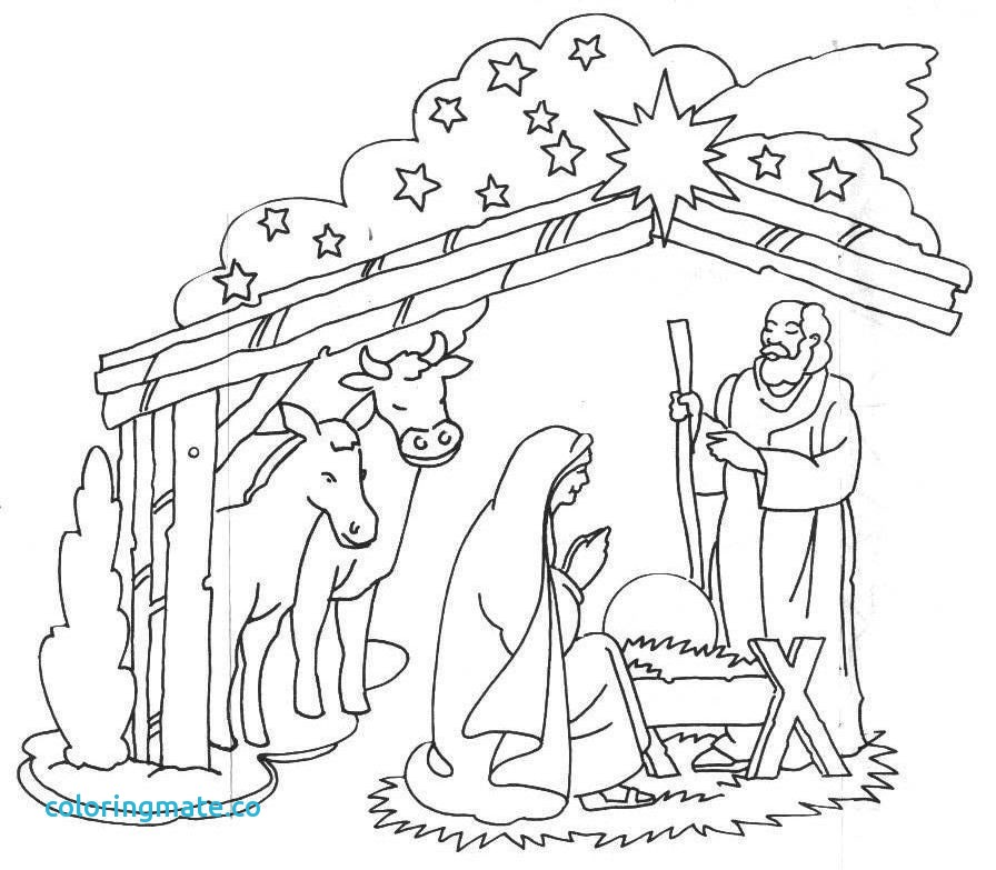 896x783 Baby Jesus Coloring Pages Inspirational Baby Jesus Manger Coloring
