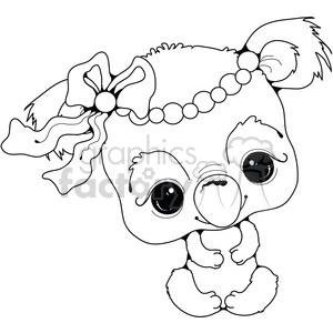 300x300 Royalty Free Baby Koala 387468 Vector Clip Art Image