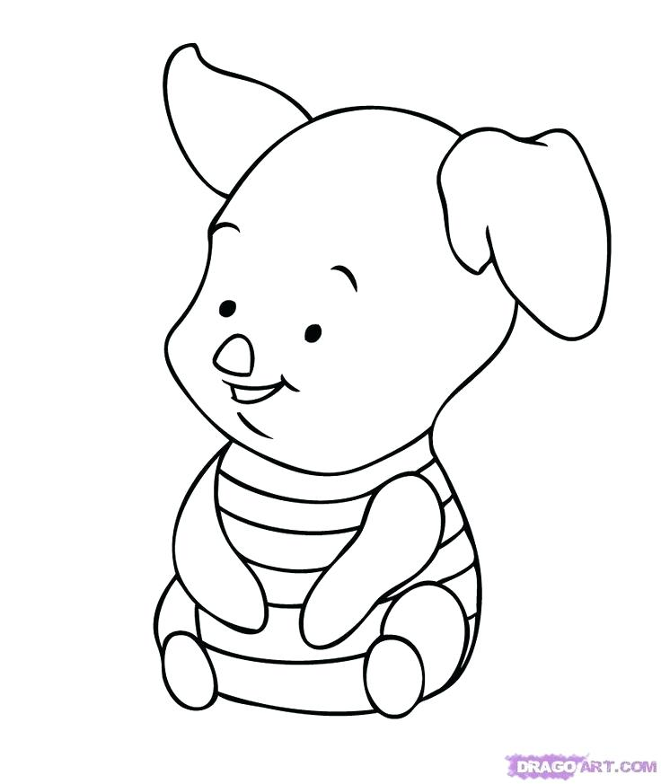 736x873 Coloring Pages Of Disney Characters Drawn Baby Coloring Pages