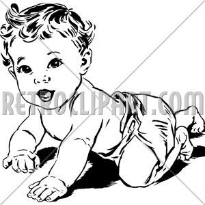 300x300 Crawling Baby,