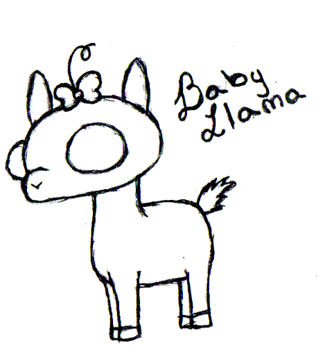 466x500 Project Llama The Baby By Blooded Moon88