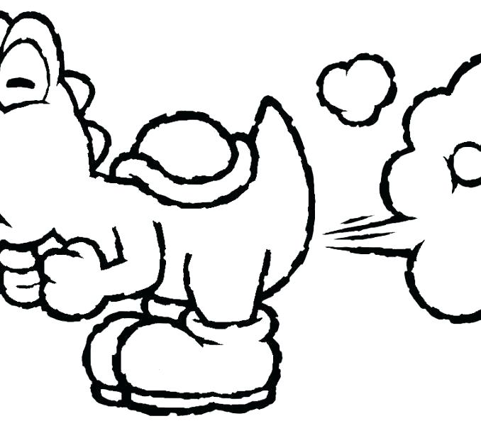 678x600 Baby Mario Coloring Pages To Print Drawn Baby And Baby Mario