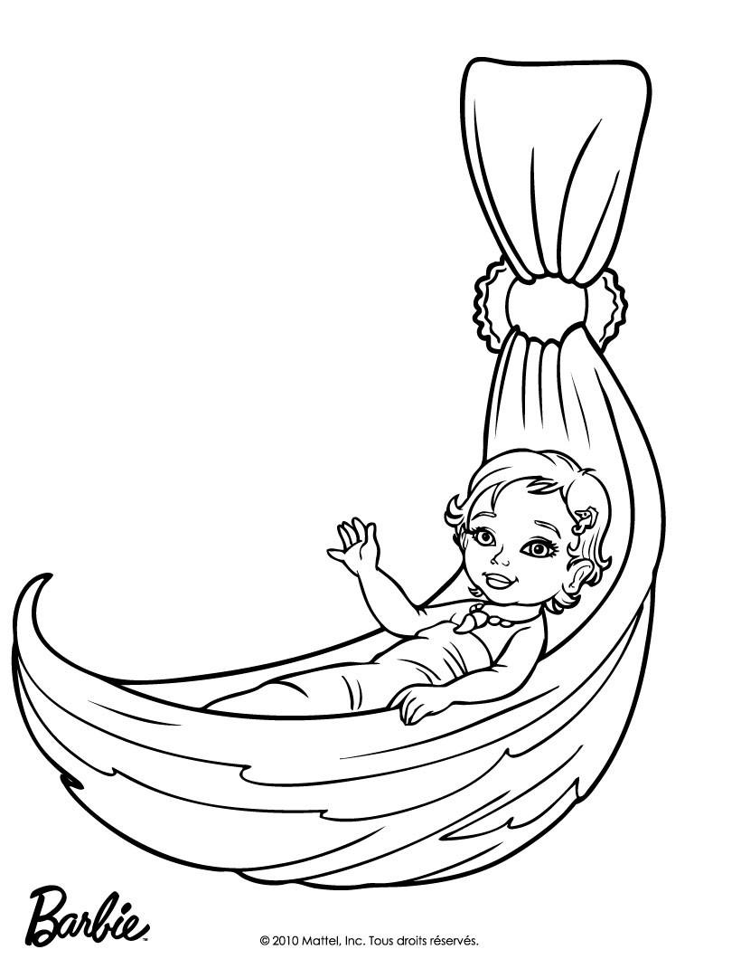 820x1060 Merliah Baby Mermaid Coloring Pages