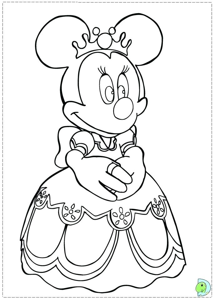 691x960 Minnie Mouse Free Coloring Pages Mouse Free Coloring Pages Baby