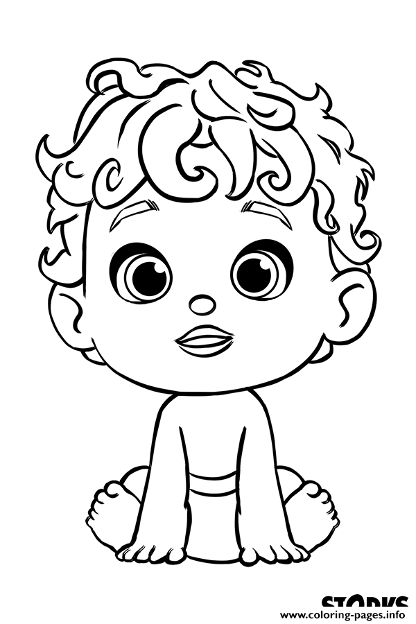 600x900 The Baby From Storks Movie Coloring Pages Printable