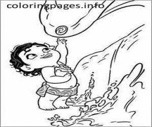 300x250 Baby Moana Coloring Pages Moana Printables Moana