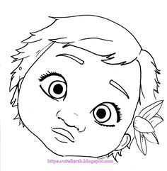 236x241 Baby Moana Coloring Page! More Moana Coloring Sheets On Hellokids