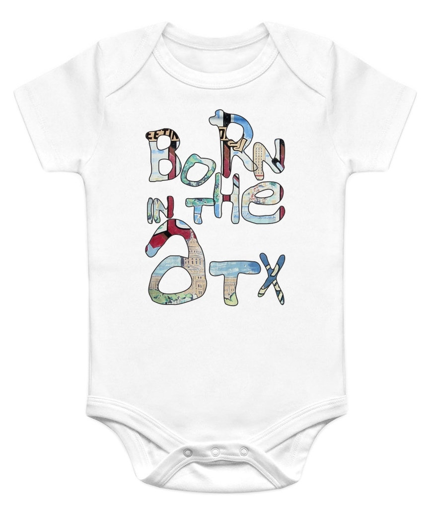 Baby onesie drawing at getdrawings free for personal use baby 868x1035 born in the atx baby onesie austin texas baby onesies negle Image collections