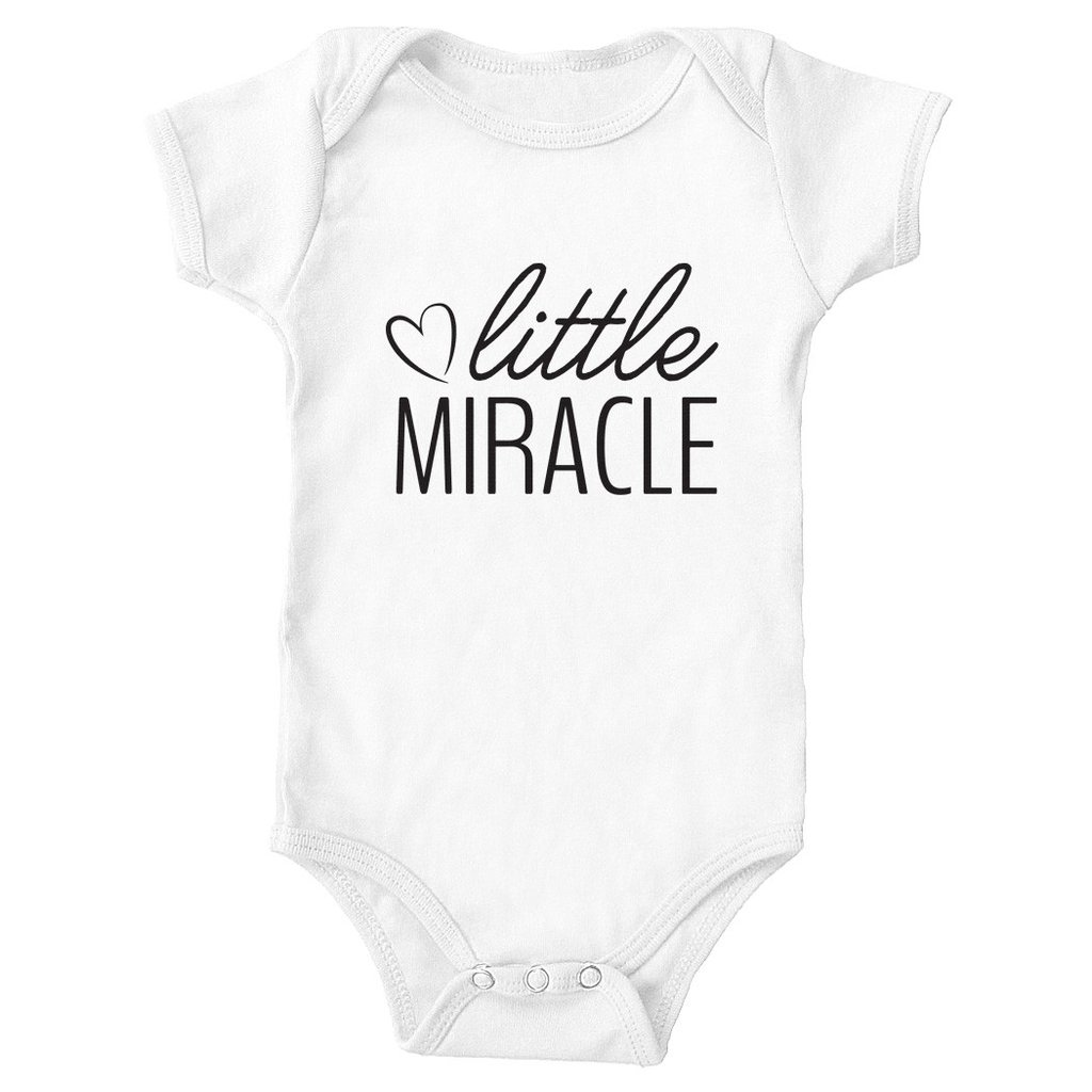1024x1024 Little Miracle Baby Onesie Tickled Teal Llc
