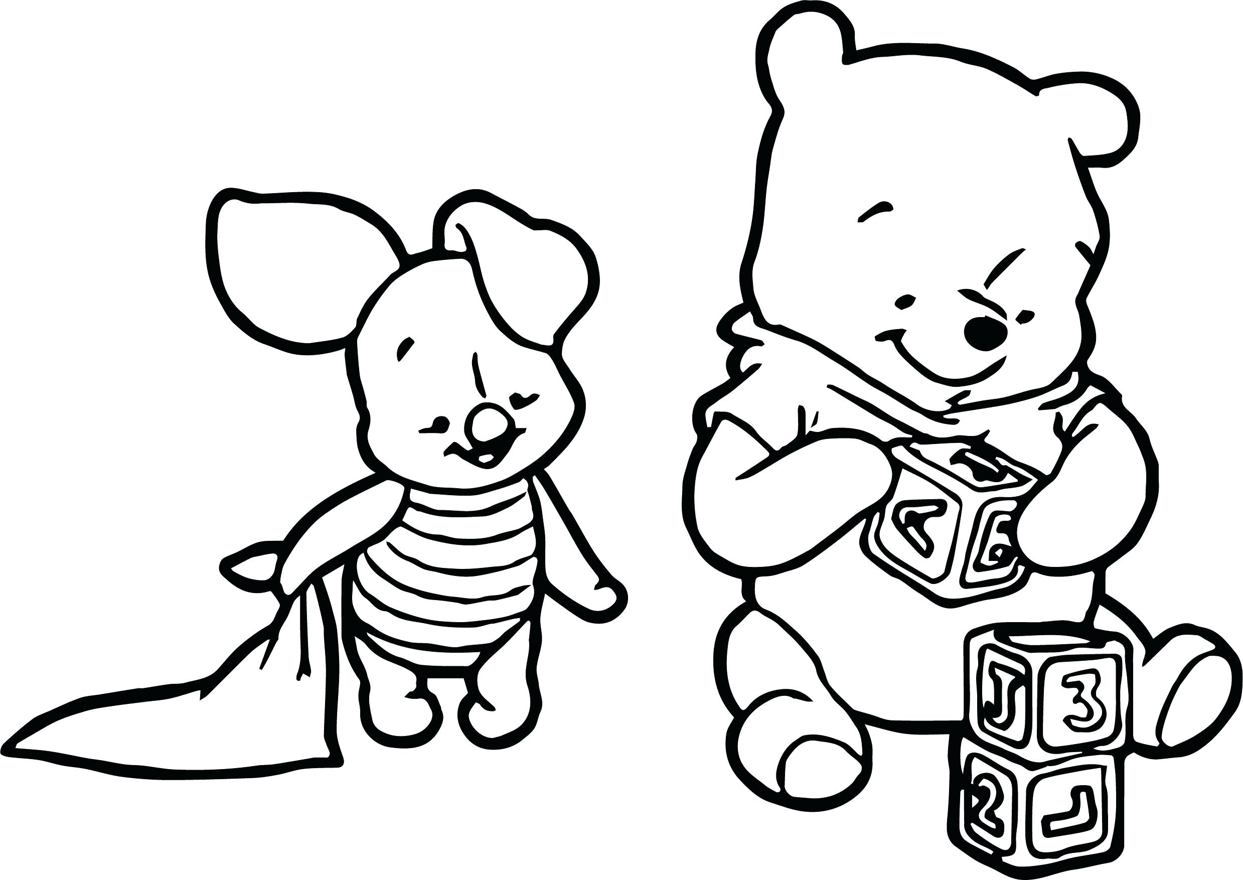 2478x1754 Coloring Coloring Pages Of Winnie The Poohs Babies Comic Page