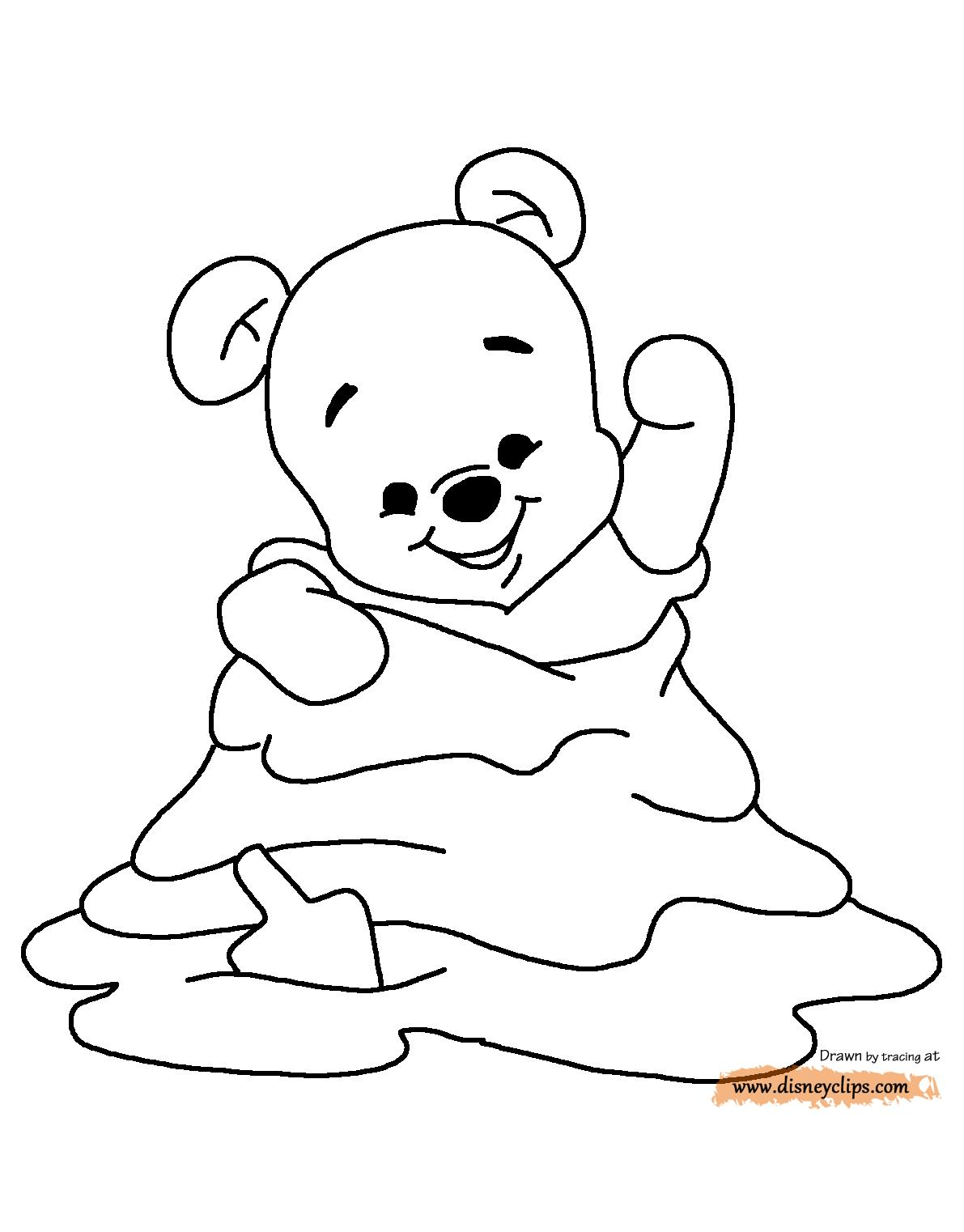 1191x1522 Baby Piglet From Winnie The Pooh Coloring Pages Coloring Pages