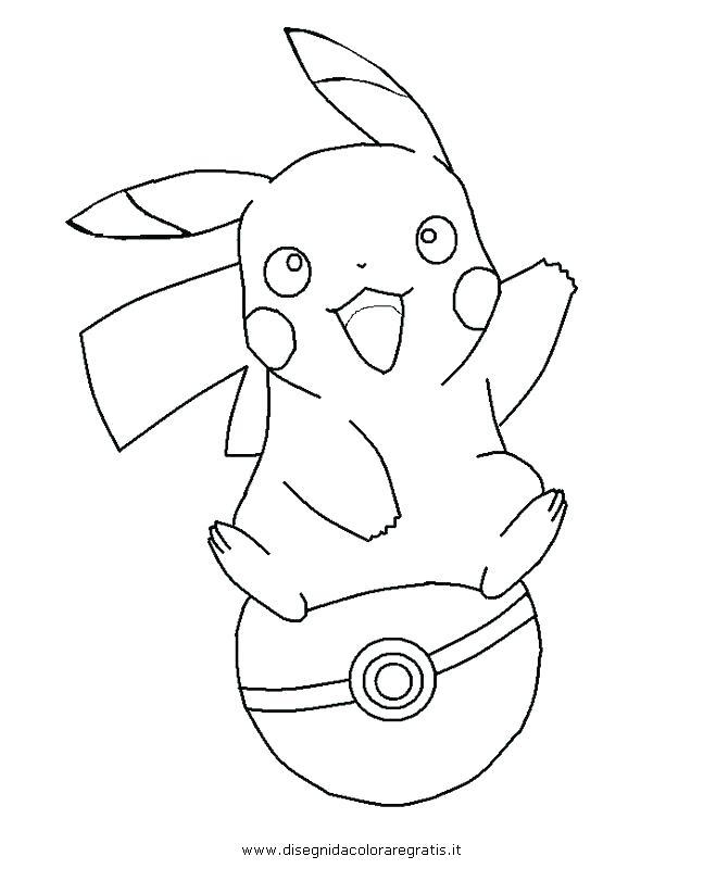 Baby Pikachu Drawing at GetDrawings | Free download